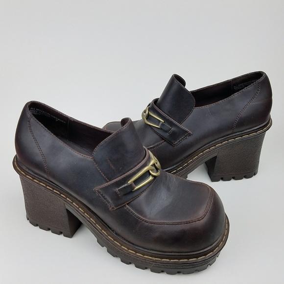 ec7c20b96c69 lei Shoes - LEI Vintage 90 s Chunky Heels